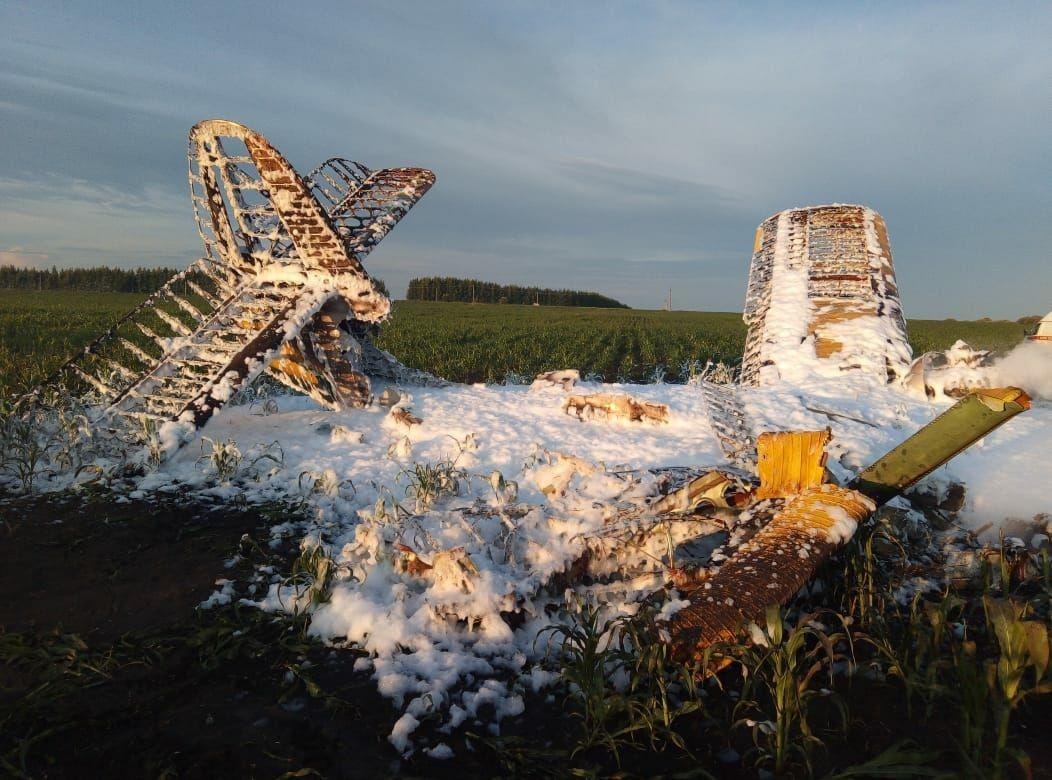 После падения самолета в Нижегородской области проверяют все аэродромы - фото 1
