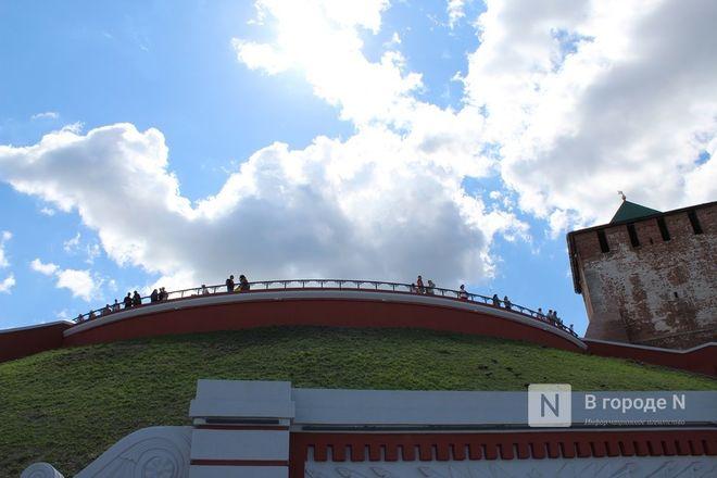 Чкаловскую лестницу открыли, несмотря на продолжающиеся ремонтные работы - фото 40