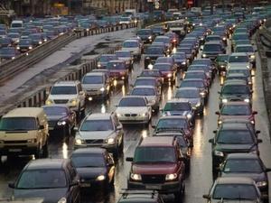 Мокрый снег принес в Нижний Новгород девятибалльные пробки