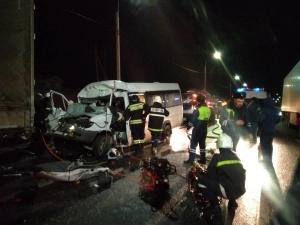 Соцсети: один нижегородский строитель погиб и 14 пострадали в аварии в Гороховце
