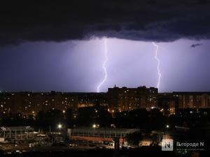 Грозы и ливни снова надвигаются на Нижегородскую область