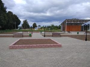Сцена и игровая зона появились на главной площади Васильсурска