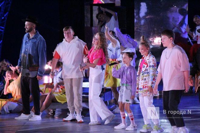 Огонь, вода и звезды эстрады: Как прошло гала-шоу 800-летия Нижнего Новгорода - фото 16