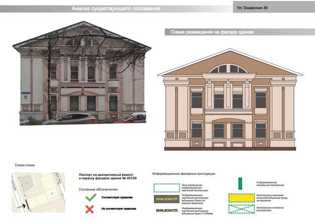 Мэрия Нижнего Новгорода утвердила архитектурно-художественную концепцию улицы Ошарской - фото 4