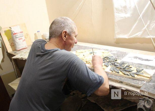 Реставрация исторической лепнины началась в нижегородском Дворце творчества - фото 6