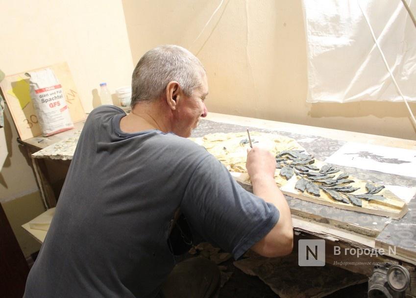 Реставрация исторической лепнины началась в нижегородском Дворце творчества - фото 1