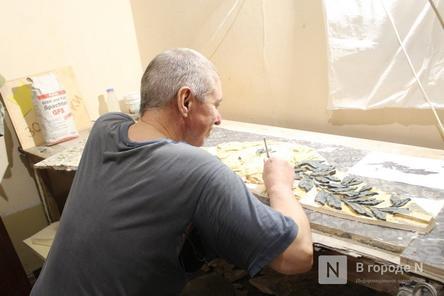 Реставрация исторической лепнины началась в нижегородском Дворце творчества