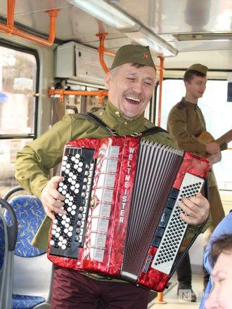 «Трамвай Победы» начал ходить по Нижнему Новгороду - фото 10