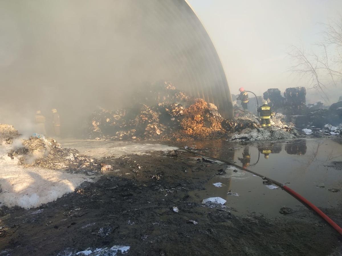 Пожар в промзоне в Дзержинске ликвидирован - фото 1
