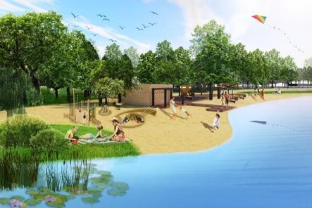 Благоустройство Силикатного озера стартовало в Нижнем Новгороде