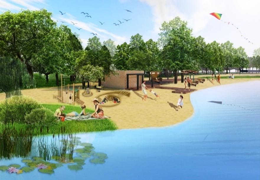 Благоустройство Силикатного озера стартовало в Нижнем Новгороде - фото 1