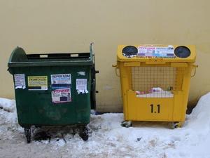 Контейнеры в Нижнем Новгороде оснастят табличками с графиком вывоза мусора