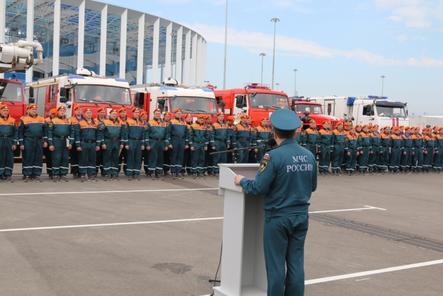 В Нижнем Новгороде наградили сотрудников МЧС из других регионов за обеспечение безопасности ЧМ-2018
