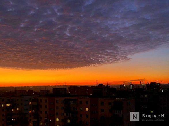 Утреннее небо поразило жителей Нижнего Новгорода - фото 2