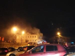 200 человек эвакуировали из горящего Дома культуры в Сергаче