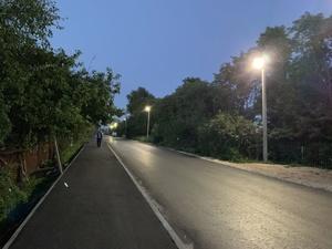 Новые фонари появились на улицах Перевоза