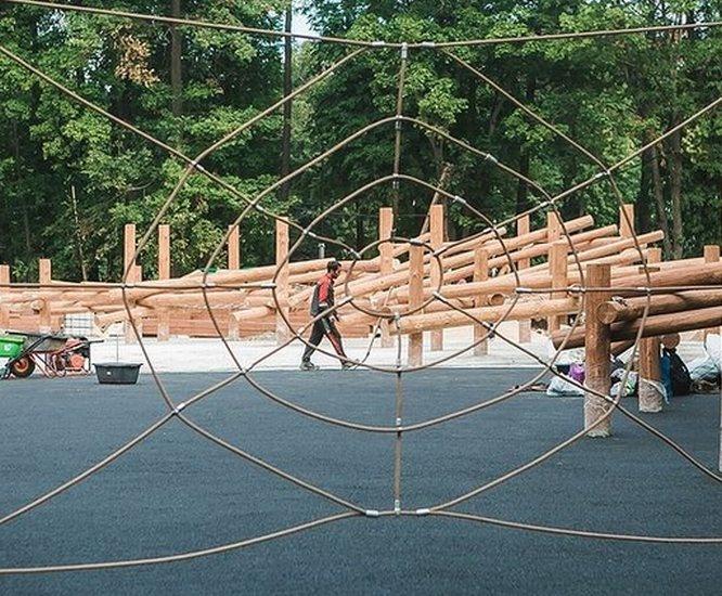 Детский парк в нижегородской «Швейцарии» готов на 90% - фото 1