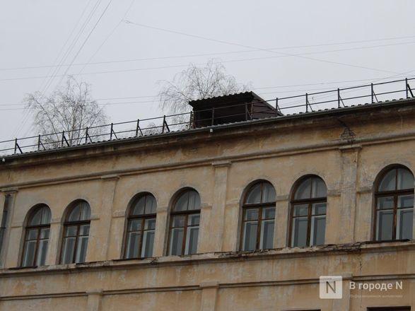 Текущую крышу в нижегородской гимназии № 67 отремонтируют через две недели - фото 24