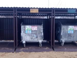 Современные площадки для сбора мусора появились в Городце