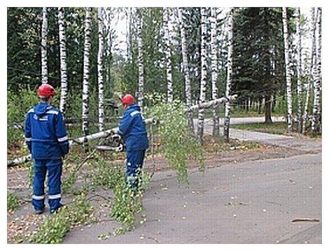 Электроснабжение восстановлено в 3-х районах Нижегородской области
