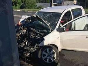 Пожилая женщина на иномарке разбилась насмерть в Автозаводском районе