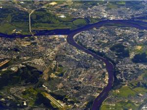 Нижний Новгород с высоты МКС показал космонавт Иван Вагнер