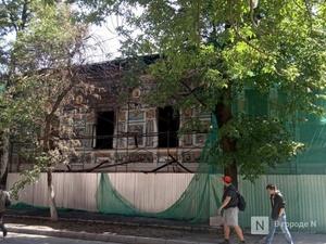 Мебель и картины пострадали во время пожара в Литературном музее