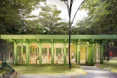 Читальни в парке «Швейцария» будут работать круглый год