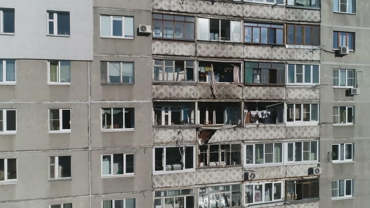 Всех жильцов из взорвавшегося дома на улице Краснодонцев переселили в гостиницы - фото 1