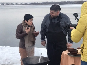 Наташа Барбье сняла передачу о Нижнем Новгороде