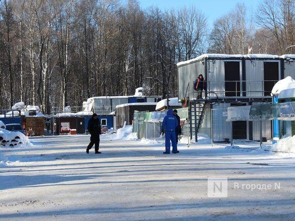 Более 240 рабочих благоустраивают нижегородскую «Швейцарию» - фото 44
