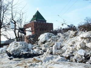 Три станции снеготаяния построят в Нижнем Новгороде к 2019 году