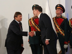 Владимир Лебедев будет представлять правительство Нижегородской области в Совфеде