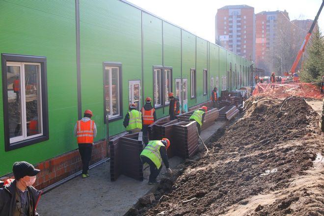 Строительство инфекционного госпиталя завершается в Нижнем Новгороде - фото 6