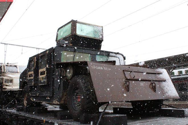 «Сирийский перелом»: уникальная выставка военной техники побывала в Нижнем Новгороде - фото 12