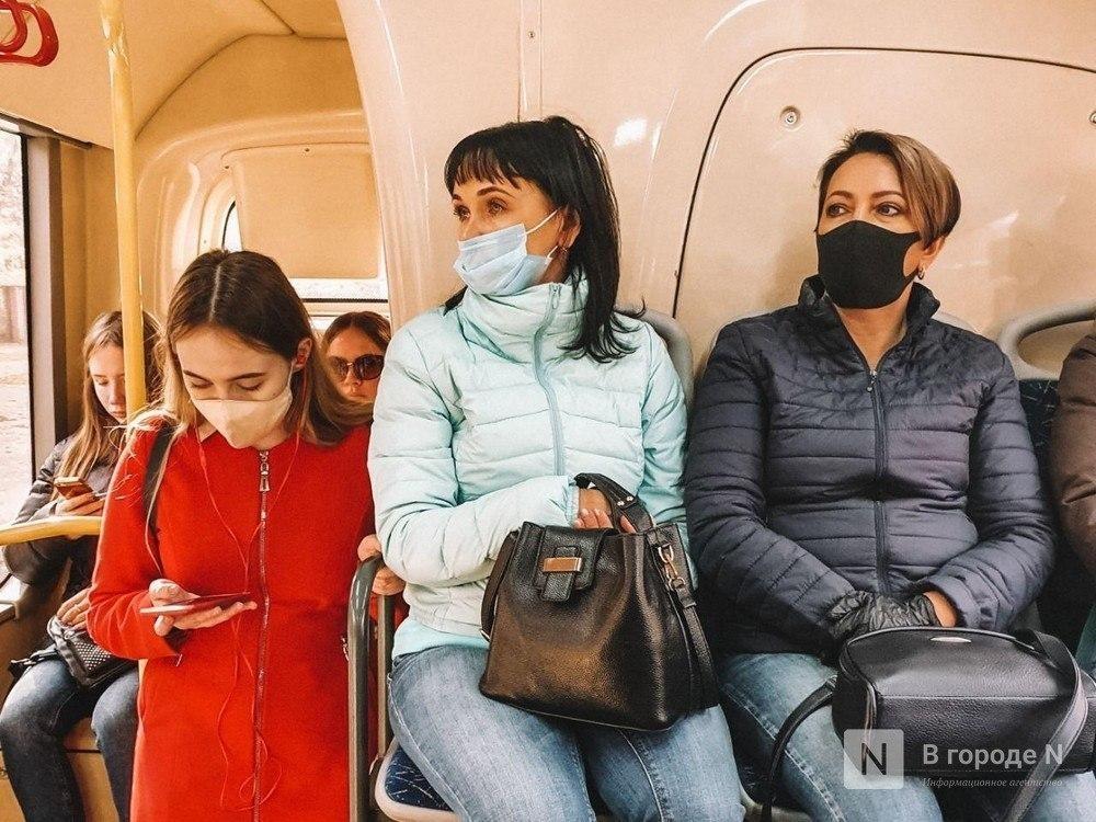 15 «масочных» рейдов прошло в октябре в нижегородском общественном транспорте - фото 1