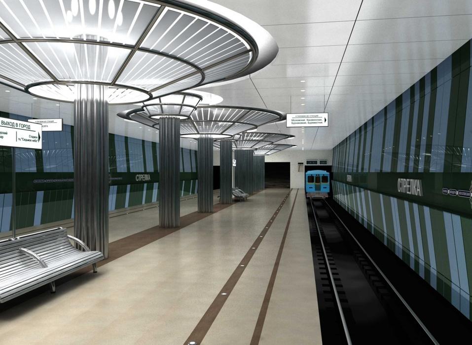 Главгосэкспертиза одобрила улучшенный проект возведения метро достанции «Стрелка»