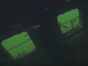 «Титаник» на дне озера засняли жители Дзержинска