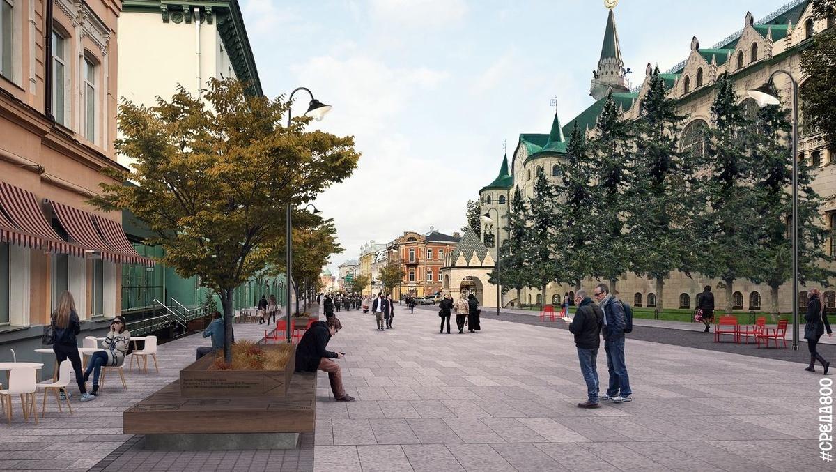 Подиумы для деревьев и новый свет: как изменится Большая Покровская - фото 7