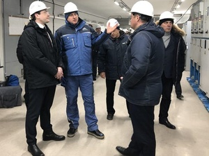 Глеб Никитин поручил завершить строительство станции метро «Стрелка» к 30 апреля