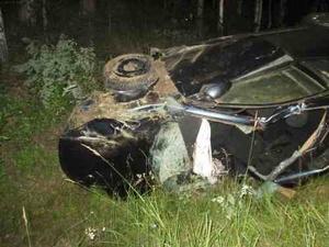 Пьяный водитель на «Ладе» улетел в кювет в Выксунском районе
