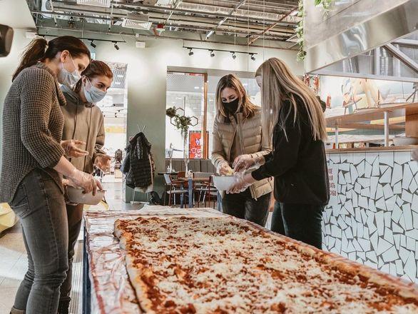 Самую большую пиццу в Нижегородской области приготовили в «Пастараме» - фото 3