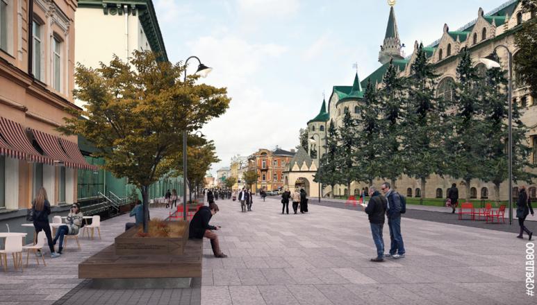 Итоговый проект единого променада от Лядова до Большой Покровской показали нижегородцам - фото 2