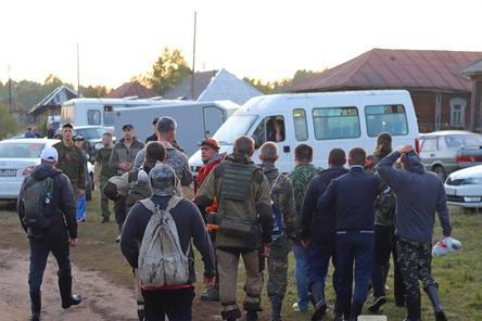 Медведь чуть не сорвал поиски Зарины Авгоновой в Вознесенском районе