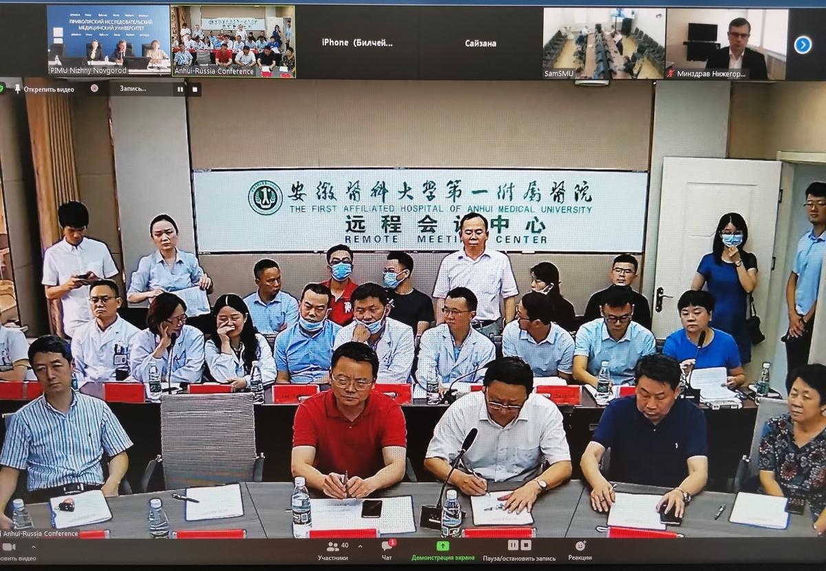 Нижегородские и китайские медики обсудили меры по борьбе с коронавирусом - фото 1