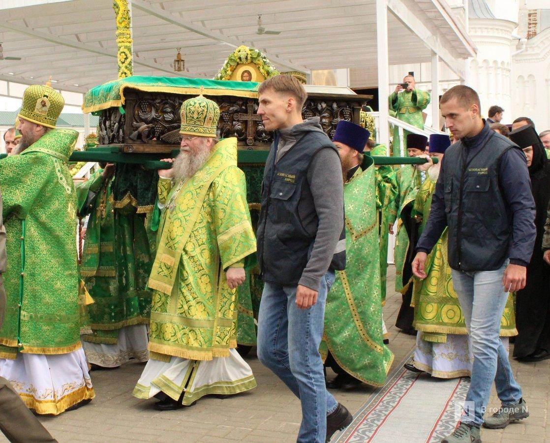 Патриарх Кирилл возглавил божественную литургию в Дивееве  - фото 7