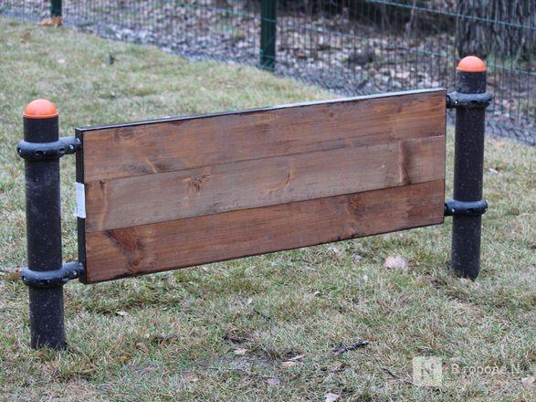 Уникальная площадка и тропинки для собак появились в нижегородском парке «Дубки» - фото 6