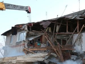Следователи установили место взрыва, приведшее к обрушению дома в Вачском районе