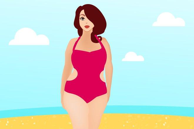 5 моделей купальников, которые подойдут женщинам рlus size - фото 1