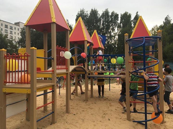 Руководитель Нижнего Новгорода Елизавета Солонченко открыла детский городок «Солнечная поляна»